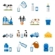 Dairy Icons Set - GraphicRiver Item for Sale