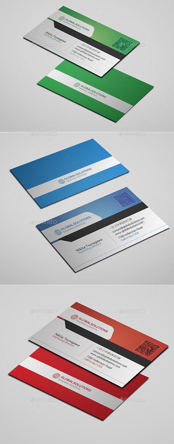 GraphicRiver Corporate Business Card 18 10661960
