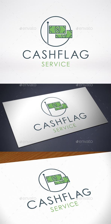 GraphicRiver Money Flag Logo Template 10642279