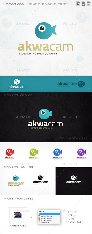 GraphicRiver Akwacam Logo 10662511