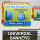 Marketing - Universal Banners - GraphicRiver Item for Sale