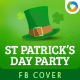 St.Patrick's Day Party Facebook Cover - GraphicRiver Item for Sale