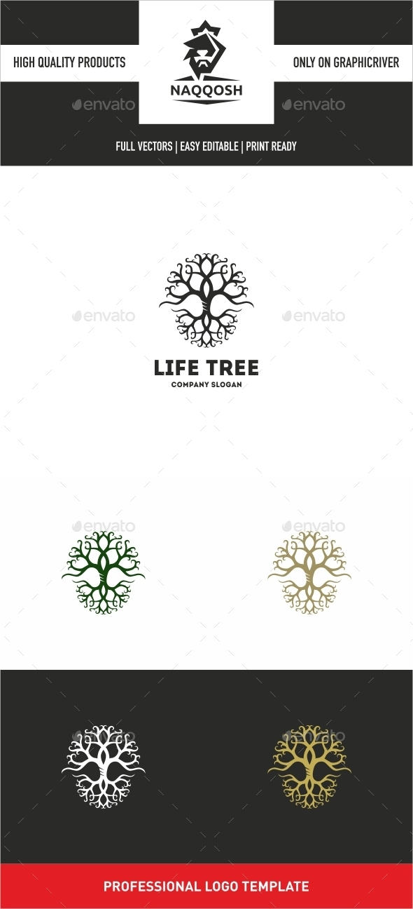 GraphicRiver Life Tree 10663316