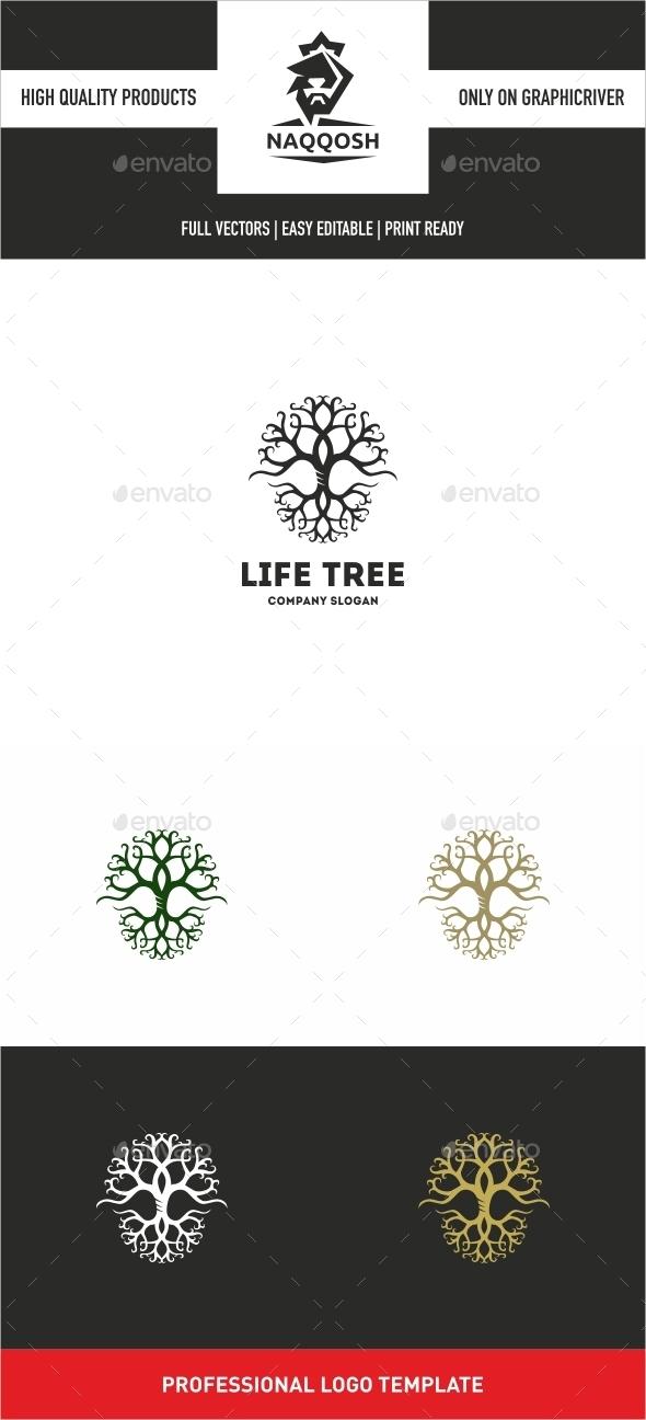GraphicRiver Life Tree 10663316