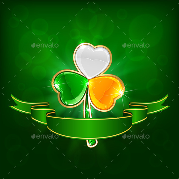 GraphicRiver Colored Clover 10663460