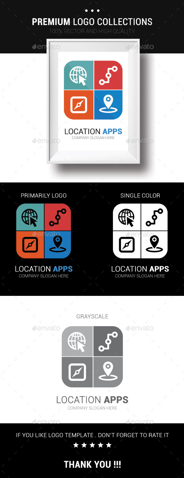 GraphicRiver Location Apps 10663490