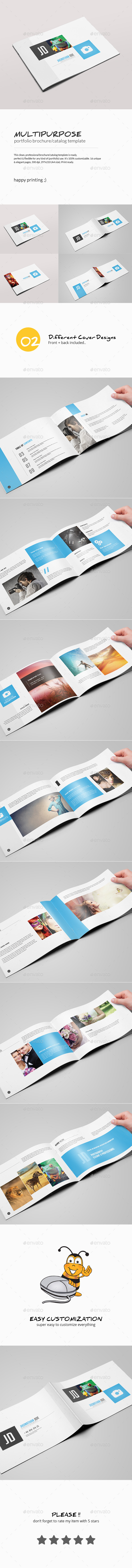 GraphicRiver Multipurpose Portfolio Brochure Template 10663890