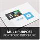 Multipurpose Portfolio Brochure Template - GraphicRiver Item for Sale