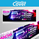 Legend Party Facebook Cover - GraphicRiver Item for Sale