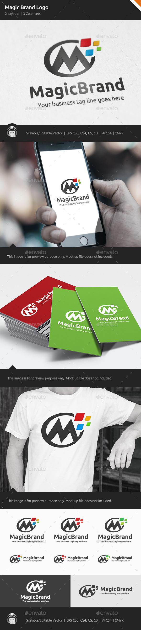 GraphicRiver Magic Brand Design Logo 10663980