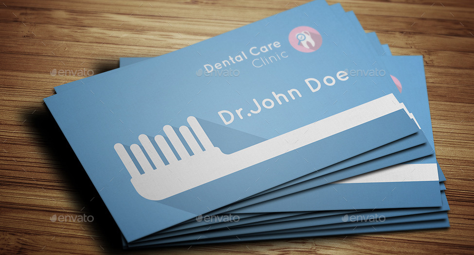 Dentist Business Card by mmounirf | GraphicRiver