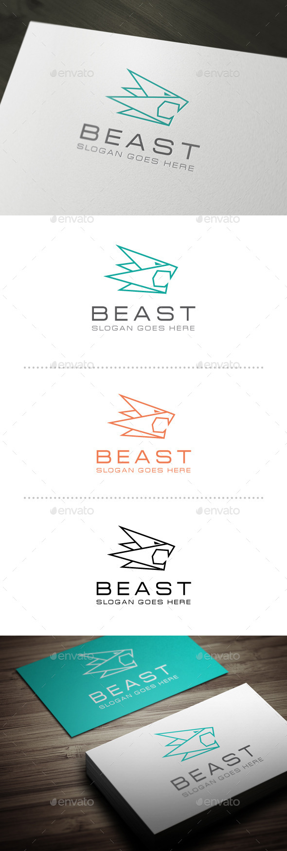 GraphicRiver Beast Logo Template 10664062