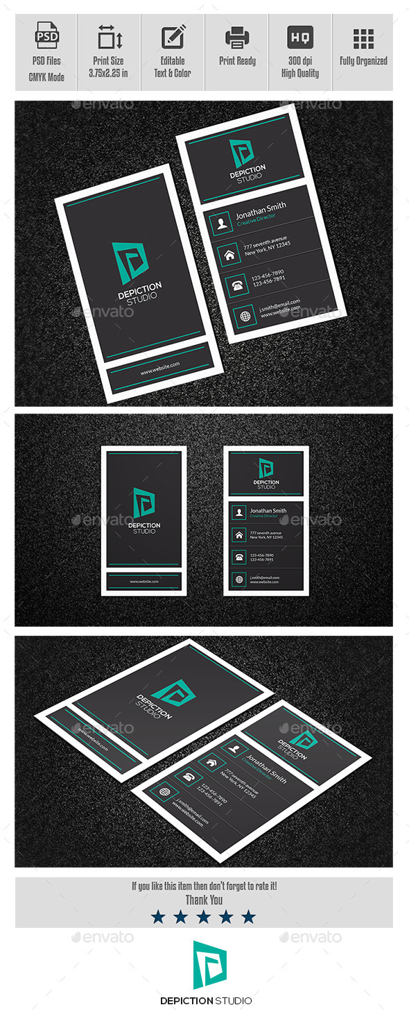GraphicRiver Creative Business Card-001 10664170