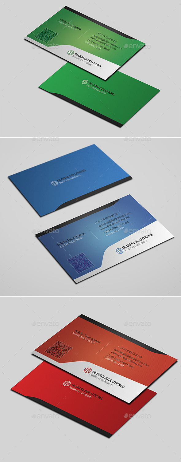 GraphicRiver Corporate Business Card 21 10664690