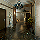 Hall Lobby Decorated Interior (full scene)