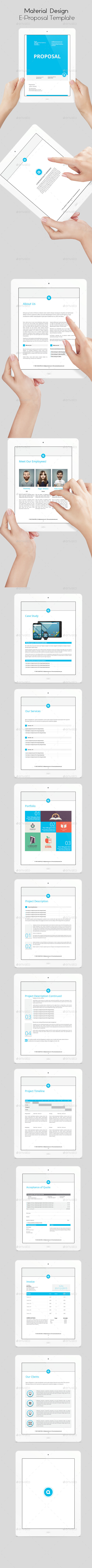 GraphicRiver Material Design E-Book Proposal 10664943