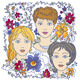 Faces of Three Girls - GraphicRiver Item for Sale