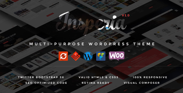 ThemeForest Insperia MultiPurpose Responsive WordPress Theme 10665706