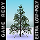 GameReady Low Poly Tree Pack 1 (Lawson's Cypress)