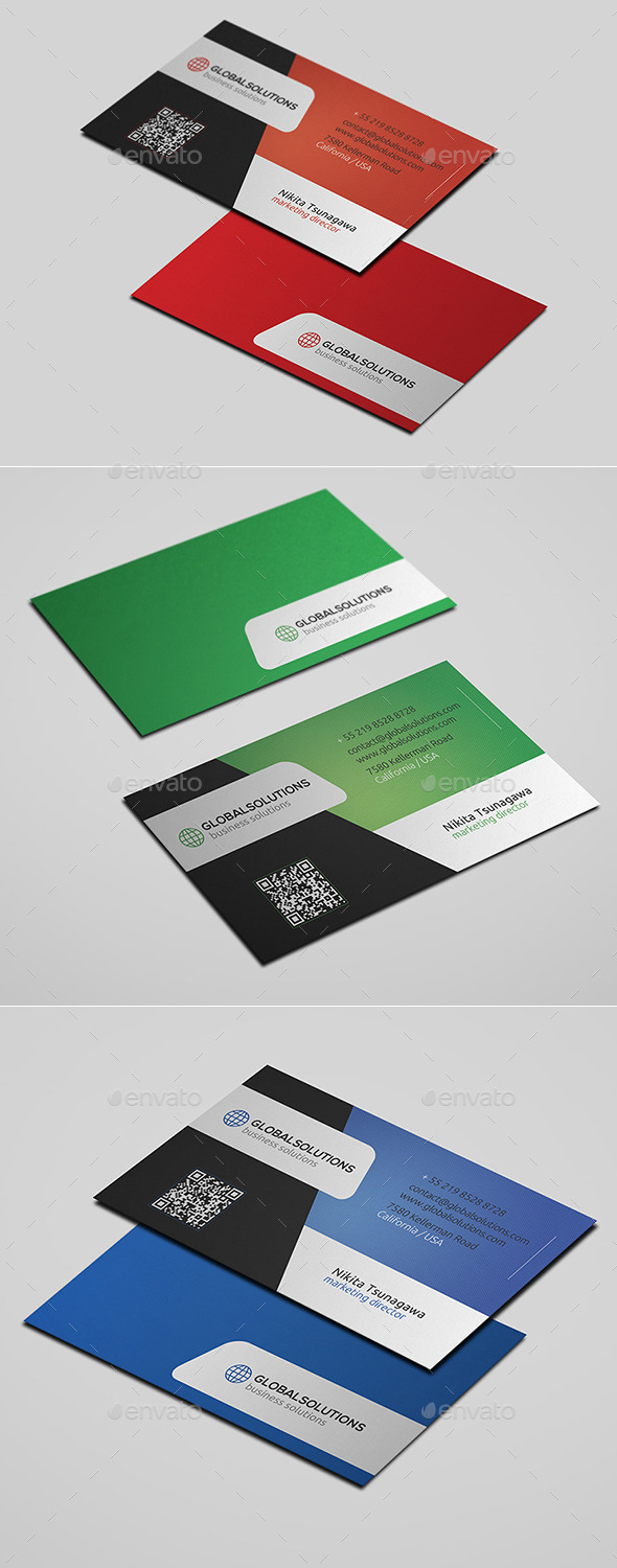 GraphicRiver Corporate Business Card 22 10665741
