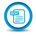 Blue doc icon - PhotoDune Item for Sale