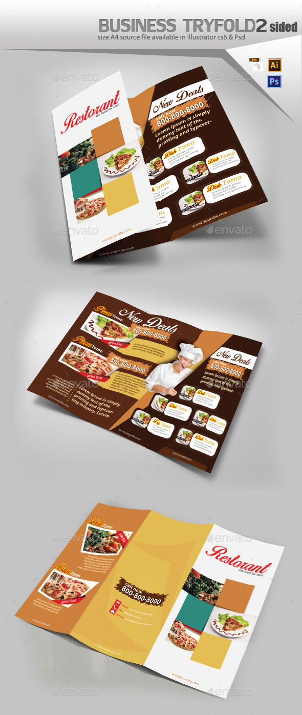 GraphicRiver Restaurant Menu Design 10666229