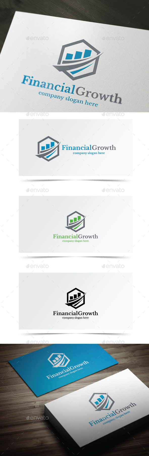 GraphicRiver Financial Growth 10666235