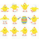 Easter Chicks - GraphicRiver Item for Sale