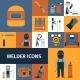 Welder Icons Set - GraphicRiver Item for Sale
