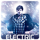 Electric Night Flyer - GraphicRiver Item for Sale