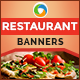 Restaurant Banners - GraphicRiver Item for Sale