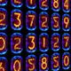 Nixie Clock Numerical Counter Videowall 7