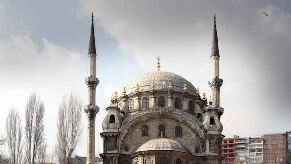 Nusretiye Cami Mosuqe Istanbul