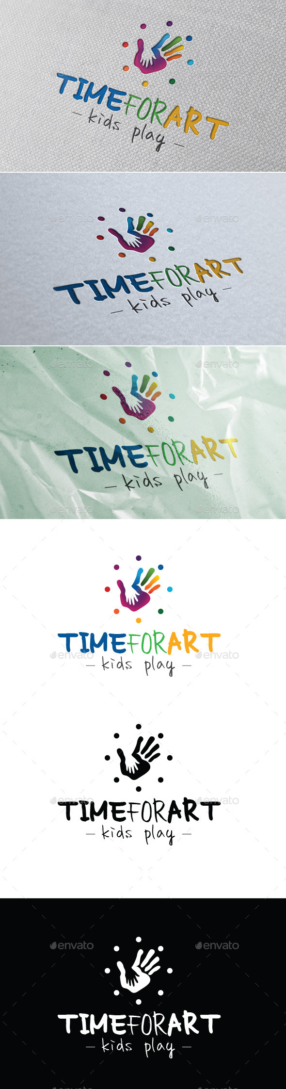 GraphicRiver Time For Art Kids Play 10668781