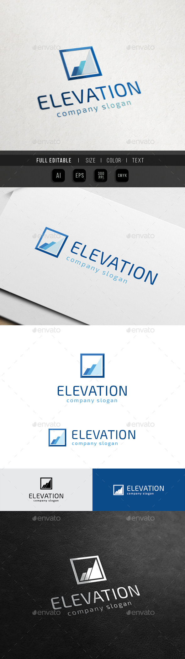 GraphicRiver Elevate Square Marketing Finance 10668908