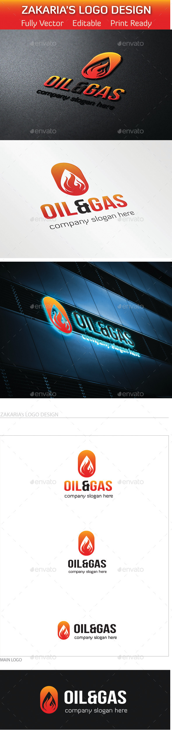 GraphicRiver Oil And Gas Logo 10669016