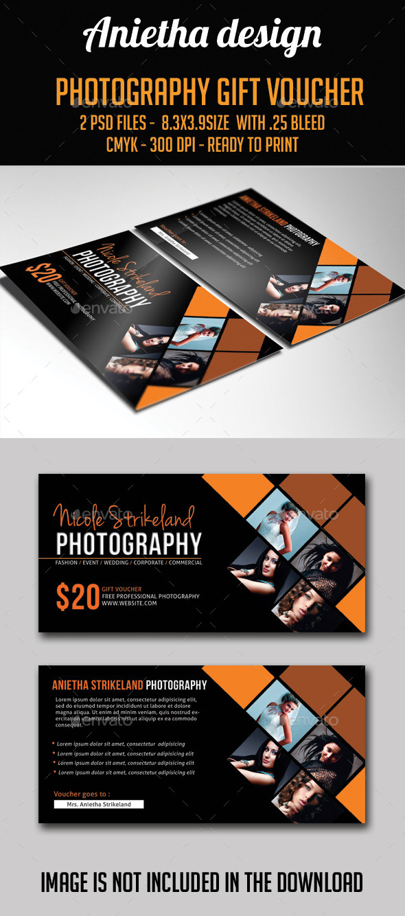 GraphicRiver Photography Gift Voucher 10547343