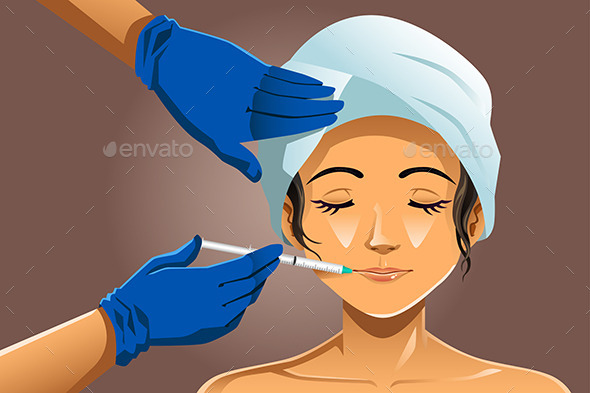 GraphicRiver Woman Receiving Beauty Treatment 10669888