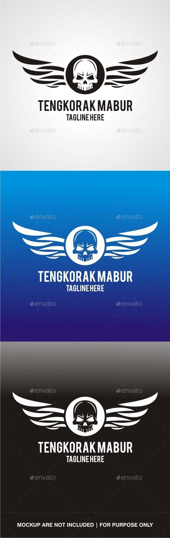 GraphicRiver Tengkorak Mabur V3 10655636