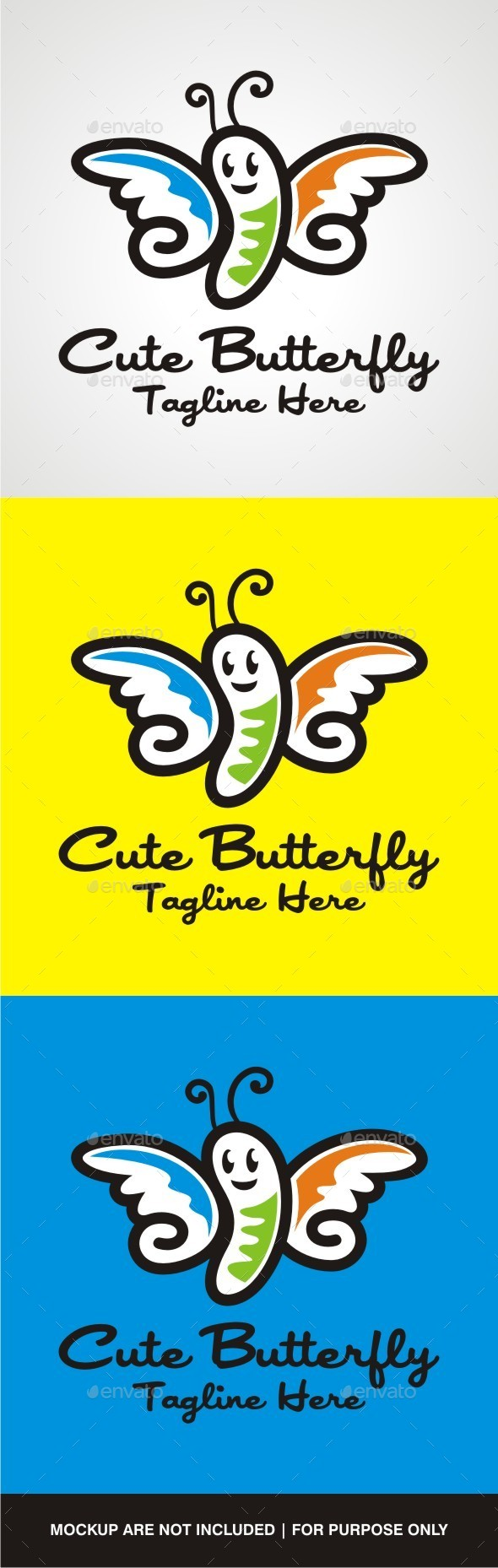 GraphicRiver Cute Butterfly 10657764