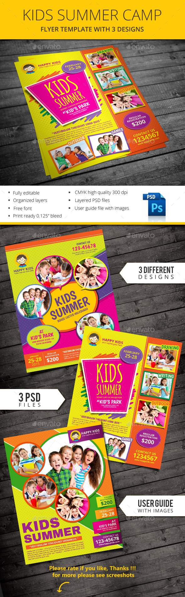 GraphicRiver Kids Summer 10669985