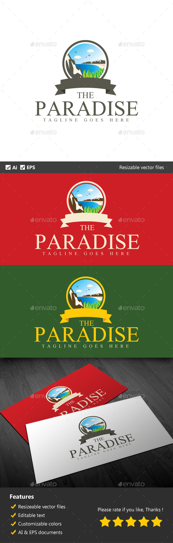 GraphicRiver The Paradise 10670002