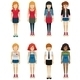 Faceless Teenagers - GraphicRiver Item for Sale