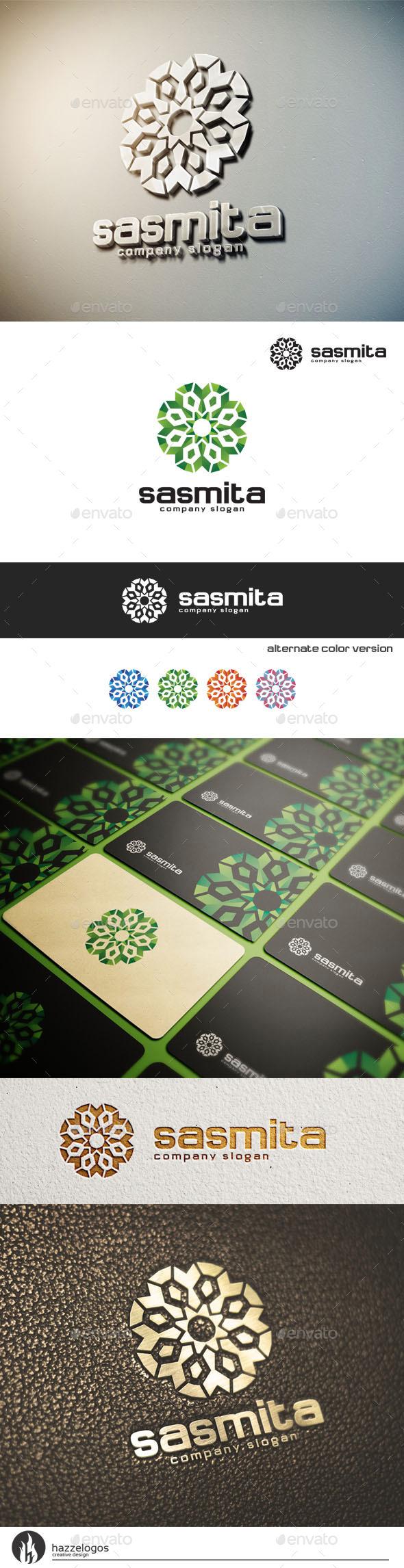 GraphicRiver Sasmita Logo 10670298