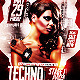 Techno Fridays Party Flyer PSD Template - GraphicRiver Item for Sale