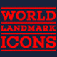 World Landmarks Premium Icons - GraphicRiver Item for Sale