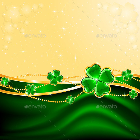 GraphicRiver Clover Background 10670461