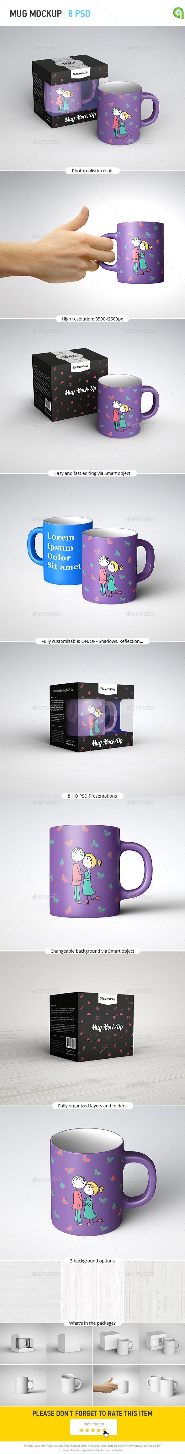 GraphicRiver Mug Mockup 10670478