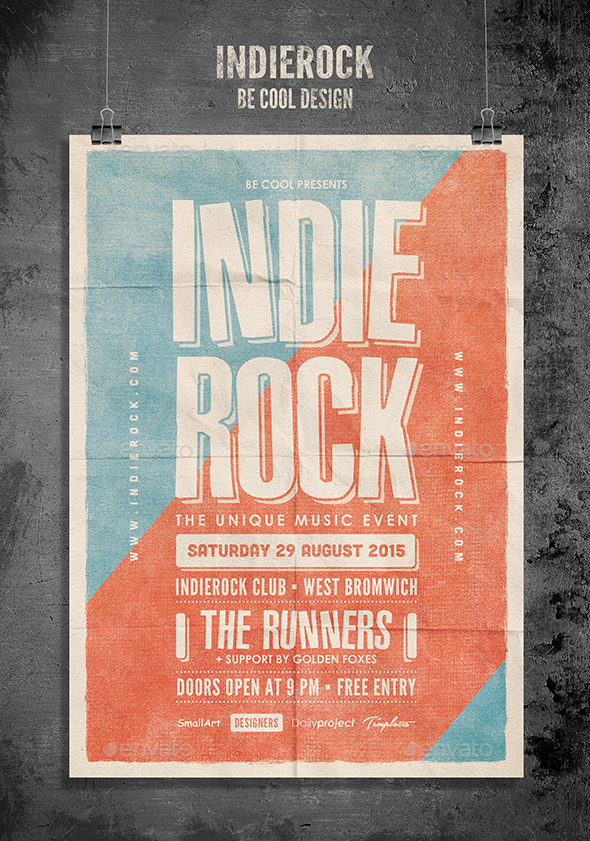 GraphicRiver Indie Flyer Poster 10670557