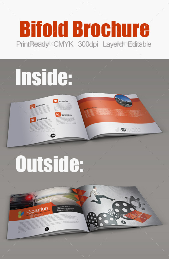 GraphicRiver Business Bifold Square Brochure Template 10670654